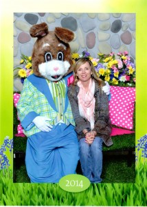 Allie Easter Bunny 2014